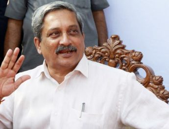 Defence Minister Manohar Parrikar. Express archive photo