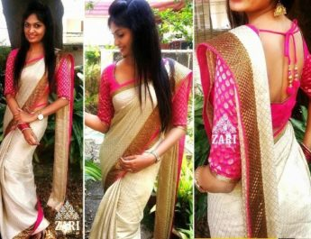 indian-designer-saree-with-new-style-blouse-2016-5