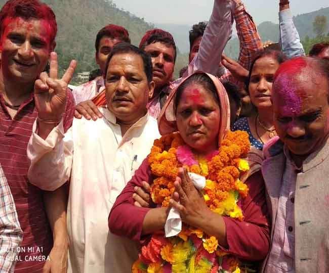By Elections 2018 Results: थराली में भाजपा ने बचाई सीट और साख; मुन्नी देवी विजयी
